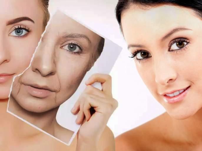 Skin Care Tips Marathi : 5 body parts that reveal your age first   शरीराच्या 'या' भागांवर सगळ्यात आधी दिसतात वयवाढीच्या खुणा; त्वचेची 'अशी' घ्या काळजी