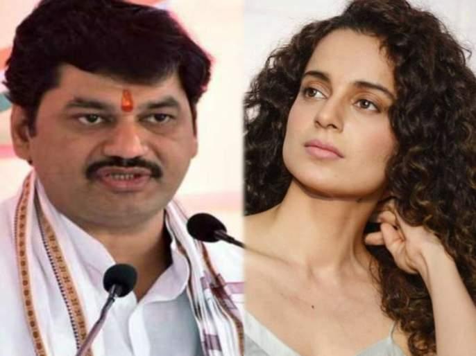 ncp leader minister dhananjay munde slams kangana renaut her comment comparison mumbai pok shiv sena sanjay raut   एकतर ती संस्कारानेच कृतघ्न किंवा मानसिक संतुलन ढासळलेले; धनंजय मुंडेंची कंगनाला चपराक