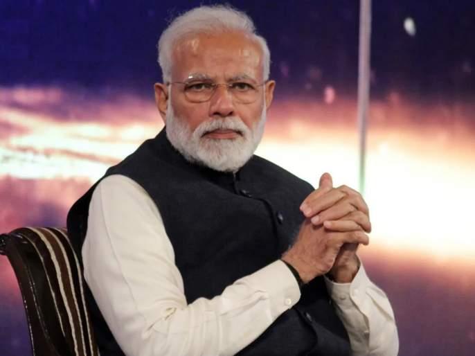 """The Modi government's economic, trade and agricultural policies are questionable."" - Shiv sena   ""मोदी सरकारची आर्थिक, व्यापार, कृषिविषयक धोरणे शंका निर्माण करणारी"""