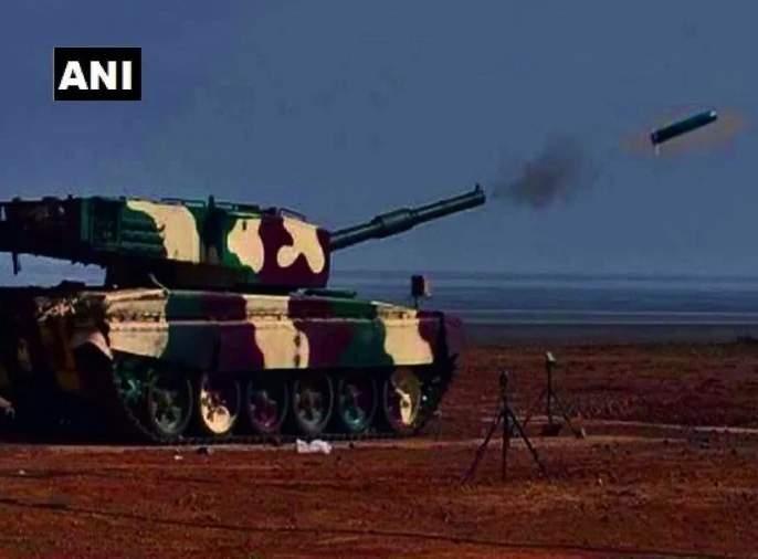 DRDO successfully testfired its Laser-Guided Anti Tank Guided Missile | क्षणार्धात उडणार शत्रूच्या चिंधड्या, डीआरडीओने केली विध्वंसक अस्त्राची यशस्वी चाचणी