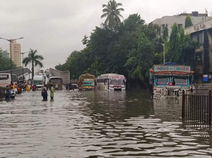 """Keep calm, transfers, tenders allocation are underway"", BJP leader Ashish Shelar attack on Thackeray govt targeted for flood situation in Mumbai | ""मुंबईकर हो! शांतता राखा; बदल्या, टेंडरवाटप सुरू आहे"", मुंबईतील पूरस्थितीवरून ठाकरे सरकारवर निशाणा"