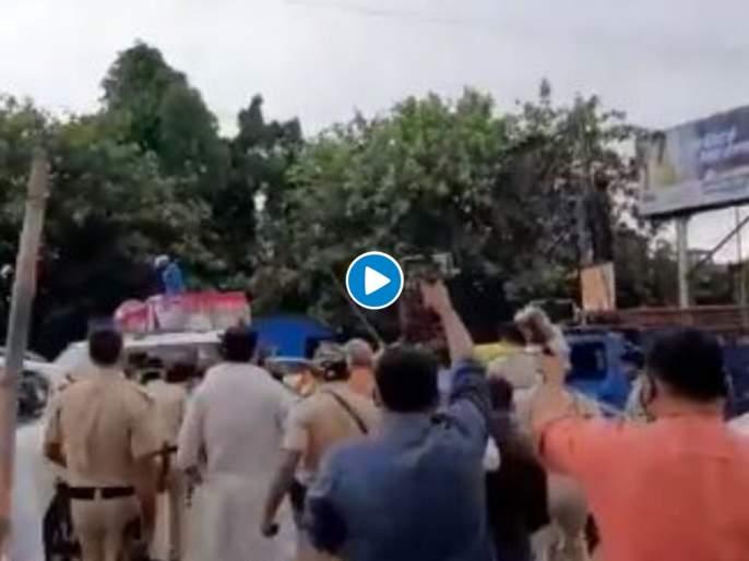 Bharat Bandh bjp leaders beaten jap party workers in Patna | भाजपा आणि जन अधिकार पक्षाचे कार्यकर्ते भिडले; जोरदार 'राडा' अन् तुफान हाणामारी, Video व्हायरल