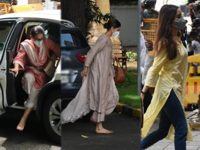 Sushant Singh Rajput Case: After three big actresses, now big actors are on NCB's radar   Sushant Singh Rajput Case: तीन बड्या अभिनेत्रींपाठोपाठ आता बडे अभिनेते NCB च्या रडारवर