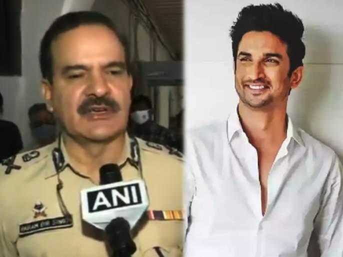 SSR Case: Conspiracy to tarnish Mumbai Police's image, alleges Police Commissioner Parambir Singh | SSR Case : मुंबई पोलिसांची प्रतिमा मालिन करण्याचे षडयंत्र, पोलीस आयुक्त परमबीर सिंग यांचा आरोप
