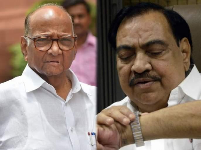 Former MLA Udesingh Padvi said that BJP leader Eknath Khadse will join NCP on the first day of his navratri | एकनाथ खडसे कधी बांधणार 'घड्याळ'?; खंद्या सर्मथकांनी सांगितलं 'टायमिंग'
