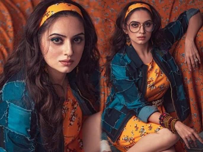 Actress shruti marathe did hot and glamorous photoshoot | मैं हूं ही नहीं इस दुनिया की.. असं म्हणत अभिनेत्री श्रुती मराठेने शेअर केलं ग्लॅमरस फोटोशूट