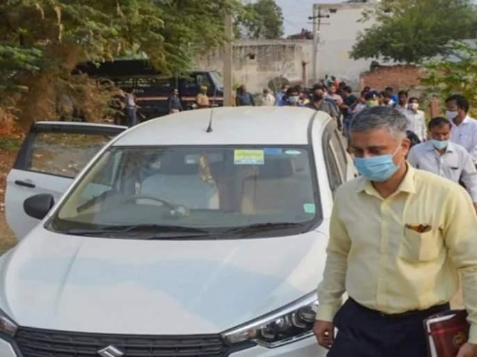 Hathras gangrape: CBI Team reaches At the home of the victim's family, statement will record of the mother and sister in law | Hathras gangrape : CBI ची टीम पीडित कुटुंबियांच्या घरी, आई अन् वाहिनीचा नोंदवणार जबाब