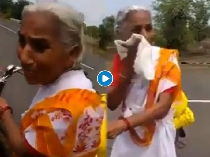 Meet 68 year old woman who is cycling towards vaishno devi near about 2200 km   सलाम! .....म्हणून ६८ वर्षांच्या मराठमोळ्या आजी सायकलवर करताहेत २ हजार किमी प्रवास