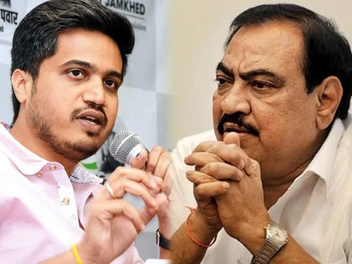 ncp mla rohit pawar tweet for eknath khadse | खडसेंनी भाजपाचा राजीनामा दिला अन् रोहित पवारांनी निसर्गाचा 'तो' नियम सांगितला