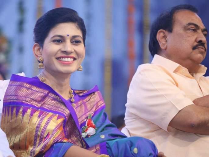 After Eknath Khadse's big decision, Raksha Khadse also clarified his role regarding BJP, said ...   Eknath Khadse : एकनाथ खडसेंच्या मोठ्या निर्णयानंतर रक्षा खडसेंनीही भाजपाबाबत केली भूमिका स्पष्ट, म्हणाल्या...
