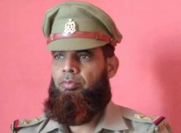 The police officer was suspended for growing his beard without permission | विनापरवानगी दाढी लांब वाढवल्यानेपोलीस अधिकाऱ्याचं केलं निलंबन