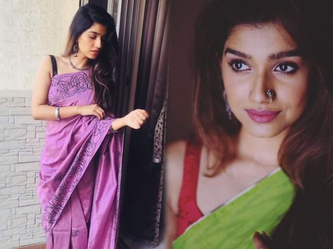 Rasika Sunil share saree pic on instagram | 'माझ्या नवऱ्याची बायको'मधील शनायाने शेअर केला साडीतला फोटो, फॅन्स झाले तिच्यावर फिदा