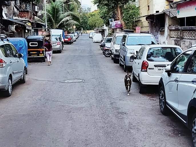 The problem of road congestion in the colony persists | वसाहतीअंतर्गत रस्त्यावरील कोंडीचा प्रश्न कायम, महापालिका हतबल, शहरवासीयांची डोकेदुखी