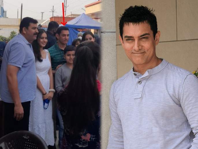 Aamir khan reach ghaziabad for lal singh chaddha movie shooting   या सिनेमाच्या शूटिंगसाठी गाजियाबादमध्ये पोहोचला आमिर खान, कुणाला कोनाकान नाही झाली खबर