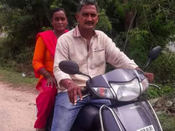 Mom dad 1400 km scooter ride from mumbai to pudukkottai for giving surprise 6 year old son | ७ महिन्यांपासून लांब होतं लेकरू; बापानं ३७ तास स्कूटर चालवून चिमुरड्यासाठी गाव गाठलं