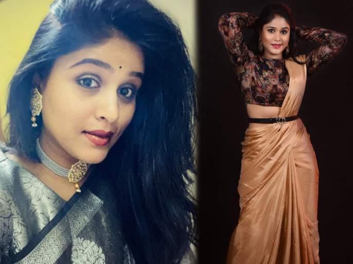 Actress akshay deodhar shared her photo's in saree   अभिनेत्री अक्षया देवधर शेअर साडीतला फोटो, चाहते म्हणाले- बाई फारच गोड दिसताय