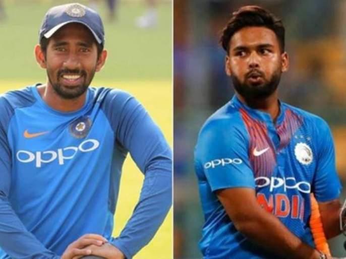 India vs Australia : Rishabh Pant's or Riddhiman Saha? Who will get a chance against Australia; Ganguly Says... | ऋषभ पंत की ऋद्धिमान साहा? ऑस्ट्रेलियाविरुद्ध कुणाला संधी मिळणार; गांगुलीनं दिलं असं उत्तर