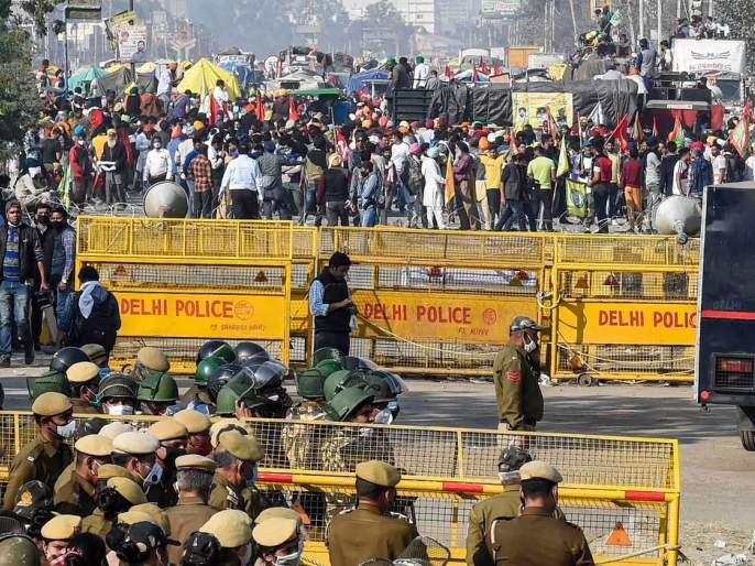 """""""Delhi is not Lahore-Karachi; Water, road closures are not appropriate '', appeals to agitating farmers   """"दिल्ली म्हणजे लाहोर-कराची नाही; पाणी, रस्ते बंद करणे योग्य नाही'', आंदोलनकर्त्या शेतकऱ्यांना आवाहन"""
