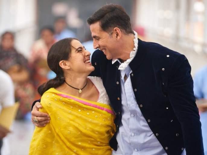 Akshay kumar kick starts shooting of atrangi re shares picture with sara ali khan | अक्षय कुमारने सारा अली खानसोबत सुरु केली 'अतरंगी रे'ची शूटिग, सेटवरुन शेअर केला पहिला फोटो