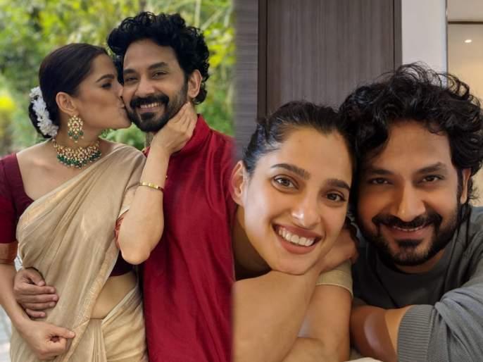 Priya bapat shared a cute photo with her husband umesh kamat   प्रिया बापटने शेअर केला पती उमेश कामत सोबतचा क्युट फोटो, दिसले रोमँटिक मूडमध्ये