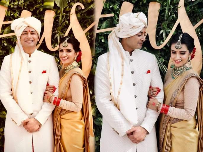 Yeh rishta kya kehlata hai fame shirin sewani intimate wedding ceremony with udayan sachan in delhi | 'ये रिश्ता क्या कहलाता है'फेम शिरीन सेवानी अडकली लग्न बंधनात, पहा लग्नाचे सुंदर फोटो