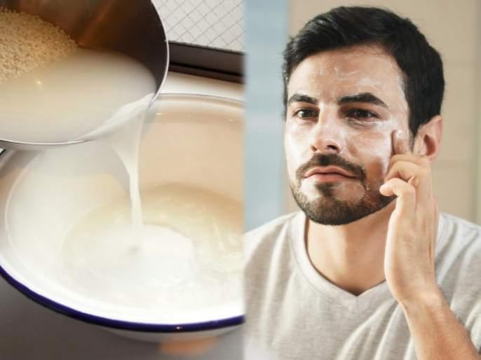 Hundred percent natural and home made scrub to clean dead cells | लूक बिघवणाऱ्या डेड सेल्सना चेहऱ्यावरून कसं घालवाल? घरच्याघरी तांदळाच्या पाण्याने समस्या होईल दूर