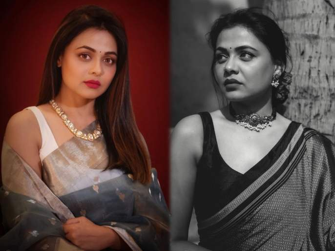 Prathna behre looks beautiful in saree | साडीत खुललं प्रार्थना बेहरेचं सौंदर्य, सोशल मीडियावर फोटो व्हायरल