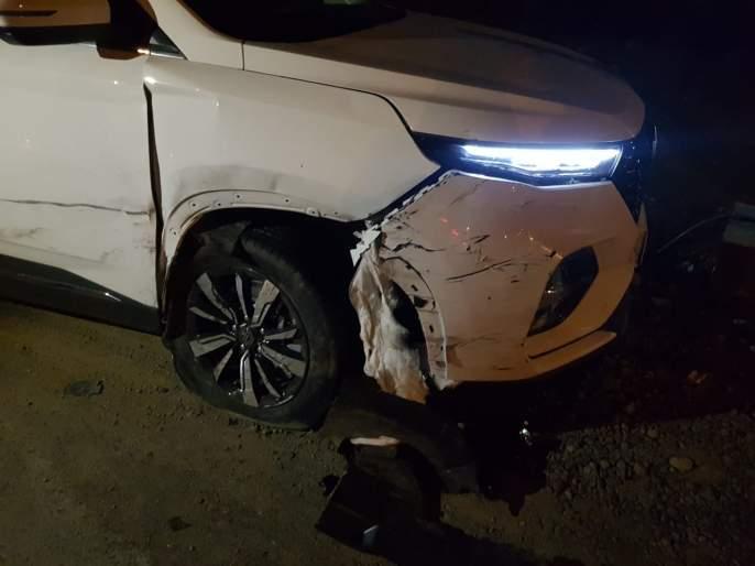 Congress MLA's vehicle crashes on Yavatmal-Nagpur road | काँगेस आमदाराच्या वाहनाला यवतमाळ-नागपूर रोडवर भीषण अपघात