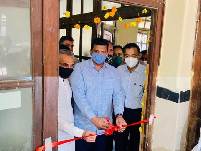 Vaccination drive launched at the J.J. hospital in the presence of Guardian Minister Aslam Sheikh | जे.जे. रुग्णालयातपालकमंत्री अस्लम शेख यांच्या उपस्थितीत लसीकरण मोहिमेचा शुभारंभ