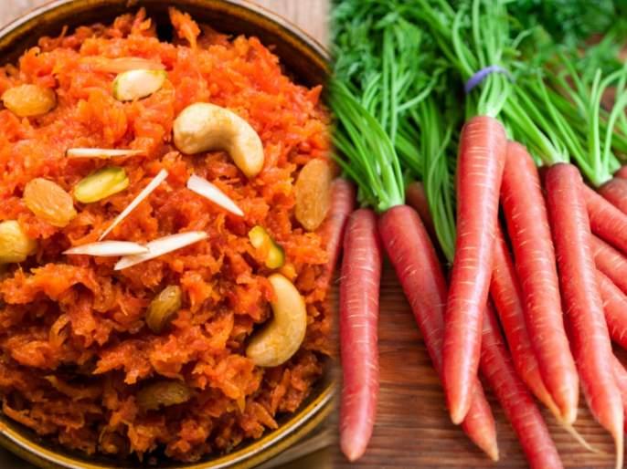 Benefits of eating carrot in winter   हिवाळ्यात आजारांना ४ हात लांब ठेवण्यासाठी फायदेशीर गाजराचा हलवा; इतर फायदे वाचून व्हाल अवाक्