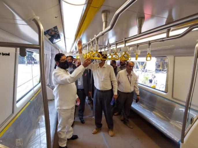 Mumbai Metro: Driverless Indigenous Metro ready for arrival in Mumbai! | Mumbai Metro : चालकरहित स्वदेशी मेट्रो मुंबईत आगमनासाठी सज्ज!