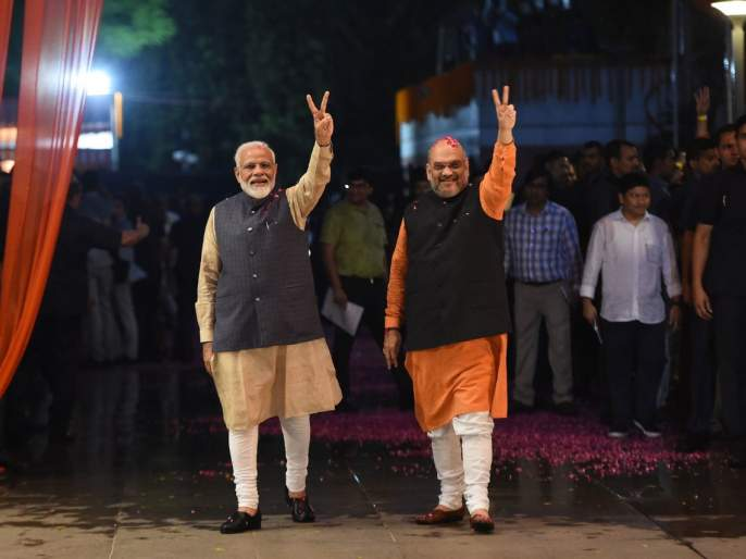 If elections are held today, Modi government will come to the country again, BJP will get so many seats | आज निवडणूक झाल्यास देशात पुन्हा मोदी सरकार येणार, भाजपाला एवढ्या जागा मिळणार