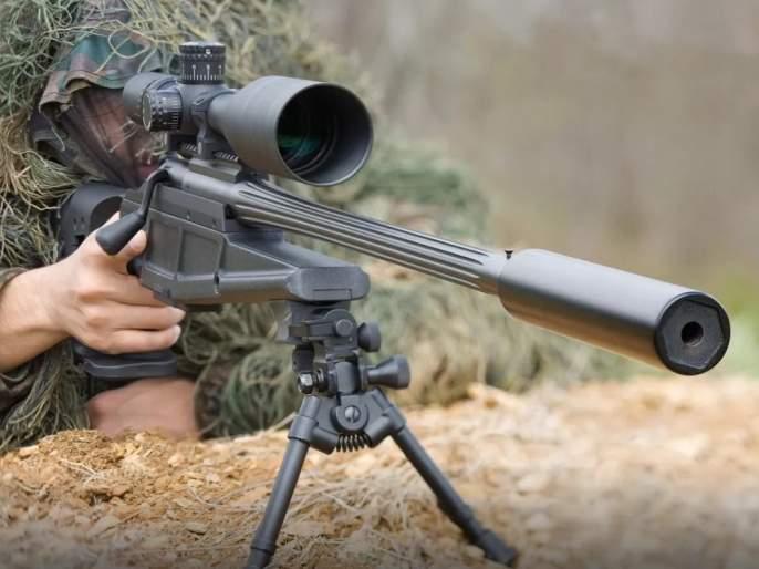 Accurate targeting, British SAS Sniper killed five ISIS terrorists in one shot   अचूक लक्ष्यभेद, जवानाने एका गोळीत केले पाच दहशतवाद्यांचे काम तमाम