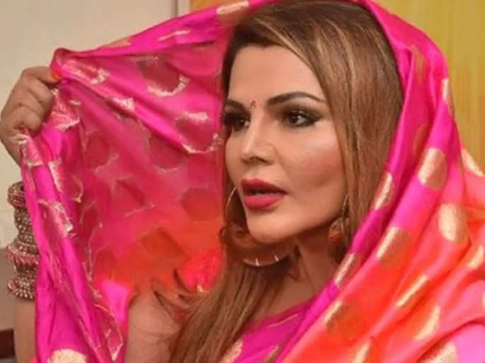 Rakhi Sawant writes 'I Love Abhinav' All Over Her Body | अभिनवच्या प्रेमात आकंठ बुडाली राखी, घरात घातला धुमाकुळ
