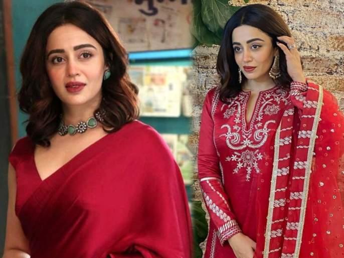 Nehha pendse new anita bhabi of bhabiji ghar par hain looks gorgeous in these viral picture | भाभीजी आप तो कमाल है! नेहा पेंडसेचं मोहक सौंदर्य पाहून चाहते पडले प्रेमात....