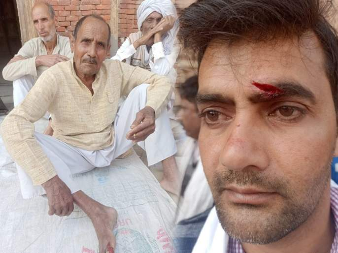 jayant chaudhary accused bjp workers of assaulting farmers in muzaffarnagar   ...अन् शेतकरी व भाजपा कार्यकर्ते भिडले, तुफान हाणामारीत अनेक जण जखमी