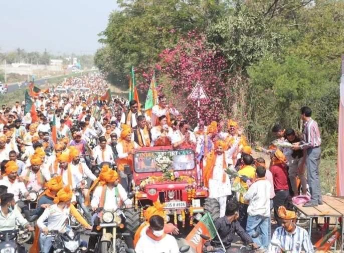 gujarat municipal election : In the municipal elections in Gujarat, the BJP won six municipal Corporation, while the Congress won zero | गुजरातमधील महानगरपालिका निवडणुकीत भाजपाचा विजयी षटकार, तर काँग्रेसची झाली अशी अवस्था