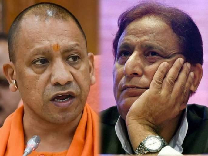 rampur another jolt for azam khan yogi government stops loktantra senani pension | योगी सरकारचा आझम खान यांना मोठा दणका, महिन्याला मिळणारं 20 हजारांचं पेन्शन केलं बंद