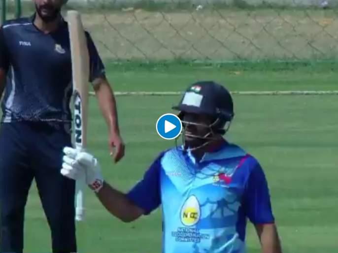Vijay Hazare Trophy : Shardul Thakur notches up a quickfire against Himachal, score 92 runs with 6 six & 6 fours | Shardul Thakur : शार्दूल ठाकूरची वादळी खेळी, १२ चेंडूत कुटल्या ६० धावा; मॅचसाठी कारनं केला ७०० किमी प्रवास