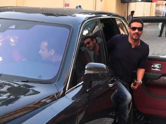 Ajay Devgan's car stop on road by punjabi man; he arrested by dindoshi police | अजय देवगणची कार अडवणाऱ्यालापोलिसांनी केली अटक;वाचा का अडवलीशेतकऱ्यानं कार