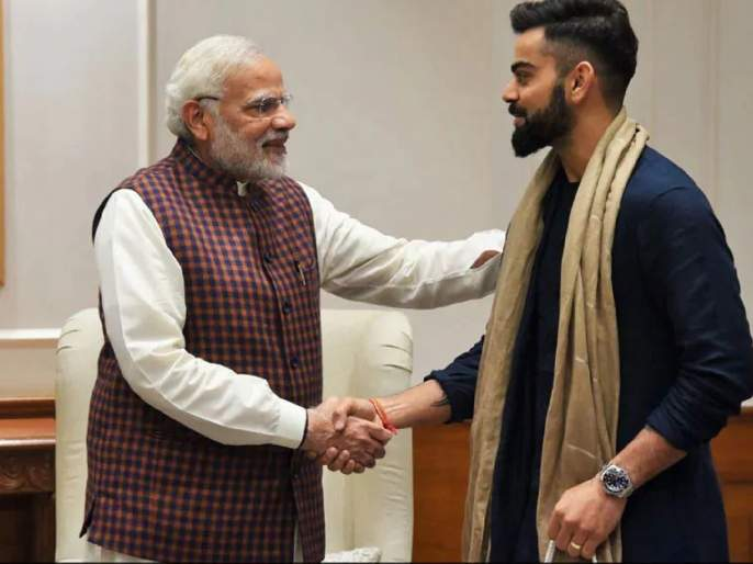Virat Kohli became the first cricket star to hit 100 million followers on Instagram | Virat Kohli : विराट कोहलीनं रचला इतिहास; सचिन तेंडुलकरलाच नव्हे तर पंतप्रधान नरेंद्र मोदी यांनाही सोडलं मागे