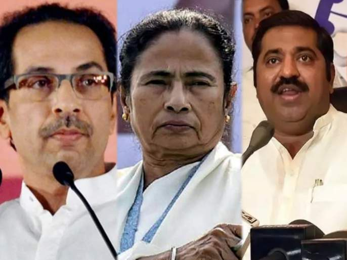 bjp leader ram kadam slams shiv sena over west bengal assembly election 2021 | ज्यांना जय श्रीराम म्हणायची लाज वाटते, त्यांना शिवसेनेचा पाठिंबा; राम कदम यांची टीका
