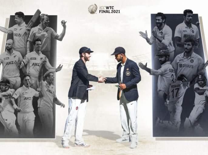 India will take on New Zealand in the ICC World Test Championship Final from June 18th.   WTC Final : अव्वल स्थानासह टीम इंडिया कसोटी वर्ल्ड कपच्या फायनलमध्ये; क्रिकेटच्या पंढरीत न्यूझीलंडशी भिडणार
