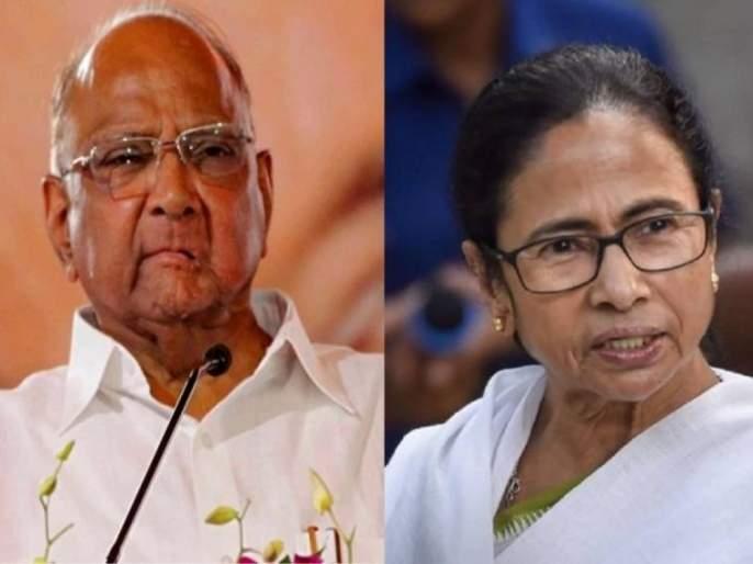 West Bengal Assembly Elections 2021 : Sharad Pawar in support of Mamata Banerjee, said, a woman ... | ममता दिदींच्या समर्थनासाठी शरद पवार मैदानात, म्हणाले, एका महिलेला...