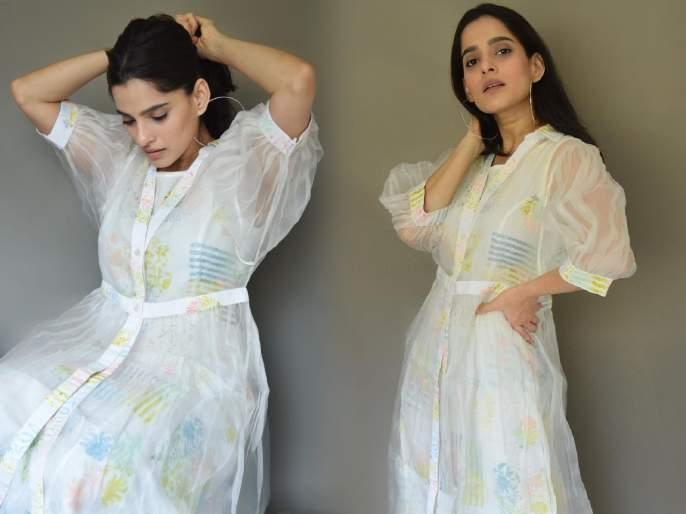 Priya bapat share her summer look on social media | गर्मीमुळे हैराण झालात का? मग फॉलो करा अभिनेत्री प्रिया बापटचा समर लूक