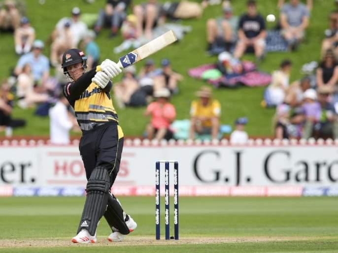 NZ vs BAN, Ten Over Match : Madness from Finn Allen, 71 runs from just 29 balls including 10 fours and 3 sixes, New Zealand 141/4   NZ vs BAN, Ten Over Match : विराट कोहली खूश झाला, RCBच्या नव्या भीडूनं २४४च्या स्ट्राईक रेटनं केली ७१ धावांची वादळी खेळी