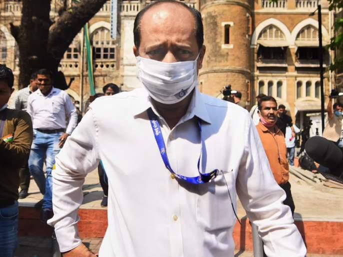 Sachin vaze sent to Taloja Jail; The NIA objected to the leaking of the 'they' letter | 'ते' पत्र लीक कसे झाले! NIAघेतला आक्षेप; सचिन वाझेंची तळोजा कारागृहात रवानगी