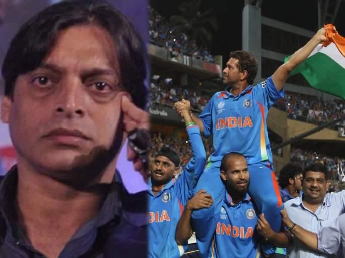 'Denied an opportunity to take Pakistan to WC final' - Shoaib Akhtar on 10th anniversary of India-Pak marquee clash | पाकिस्तानला वर्ल्ड कप फायनलमध्ये नेण्याची संधी माझ्याकडून हिसकावली गेली - शोएब अख्तरचं विधान