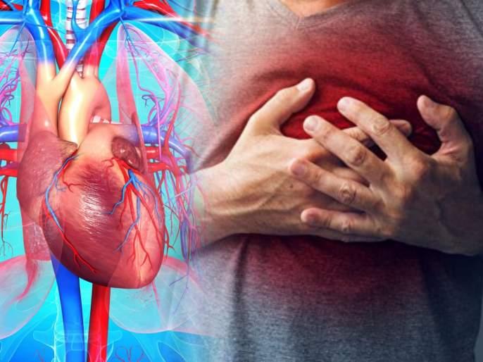 Heart disease symptoms : These are the symptoms of Heart disease   Heart disease symptoms : साध्या वाटणाऱ्या 'या' ७ लक्षणांमुळे तुम्हालाही होऊ शकतो हृदयाचा गंभीर आजार; वेळीच सावध व्हा