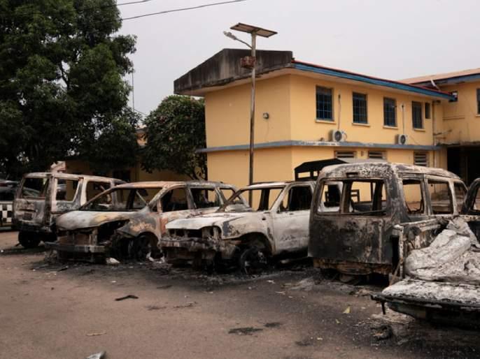 two thousand prisoners escaped from jail in nigeria | बापरे! 'या' देशात थेट जेलवरच हल्ला; तब्बल 2 हजार कैद्यांचं पलायन, घटनेने खळबळ
